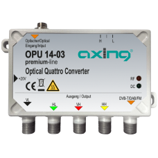 AXING OPU 14-03 - Quattro оптичен конвертор