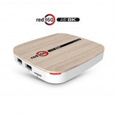 RED360 AIR 8K ANDROID IPTV ПРИЕМНИК