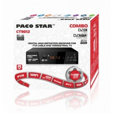 PACO CT9012 - КОМБИНИРАН HD КАБЕЛЕН И ЕФИРЕН DVB-C, DVB-T/T2