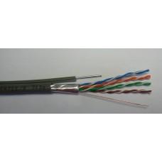 Кабел FTP CU с носещо въже