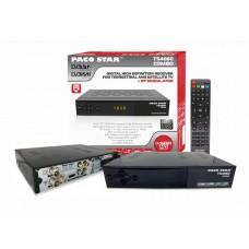 PACO COMBO TS4060 - HD ЕФИРЕН ПРИЕМНИК DVB-T/T2 + САТЕЛИТЕН ПРИЕМНИК S/S2